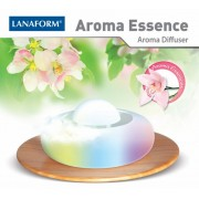 Lanaform AROMA ESSENCE Комплект от бамбукова поставка и лампа за арома и светотерапия