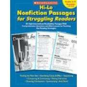 Hi-Lo Nonfiction Passages for Struggling Readers: Grades 4-5 by Teaching Resources