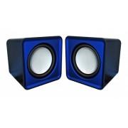 Boxe OMEGA cu USB OG01B Surveyor albastru 41584