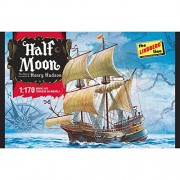 FALLER Lindberg HL208 / 12 - 1/200 Half Moon Barca a vela, moto d'acqua