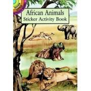 African Animals Sticker Activity Book by Jan Sovak