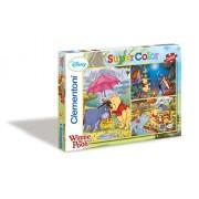 Clementoni Puzzle 25180 - Set de puzzles (3 x 48 piezas), diseño de Winnie the Pooh