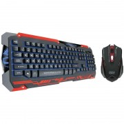 Kit tastatura si mouse Dragon War Sencaic Combo Set Black