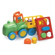 Fun Time Farm Tractor with Shape Sorter