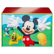 Disney Toy Box Mickey Mouse 60x40x40 cm Blue Wood WORL119012