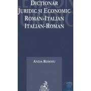 Dictionar juridic economic roman-italian italian-roman