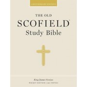 The Old Scofield (R) Study Bible, KJV, Pocket Edition, Zipper Duradera Black by C I Scofield