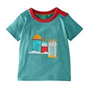 Little Green Radicals Boy's Castles in The Sky Short Sleeve Tee T-Shirt