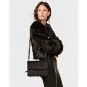 Dames leather clutch