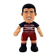 """Bleacher Creatures BC10REPLLS/BAR 10-Inch """"FC Barcelona Luis Suarez Bleacher Creature"""" Plush Figure"""