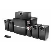 "BOXE 5.1 EDIFIER, RMS: 80W (8Wx4 + 10W + 38W), port USB, SD card slot, MP3 Player, FM, Optical Digital In, black ""C6XD"" (include timbru verde 1 leu)"