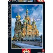 Puzzles Educa - Puzzle Iglesia De La Resurrección, San Petersburgo, 1000 piezas (16289)