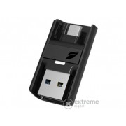 Leef Bridge Dual USB flash drive pentru Android , USB 3.0 64GB, negru