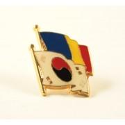 Insigna Romania - Coreea de Sud