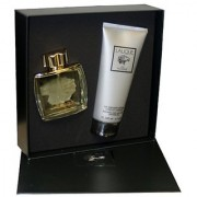 Lalique By Lalique For Men. Gift Set ( Eau De Parfum Spray 2.5 Oz + Shower Gel 6.6 Oz ).