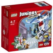 LEGO Juniors - Persecución en el helicóptero de policía, multicolor (10720)