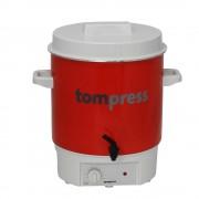Sterilizator electric emailat, cu robinet, Tom Press