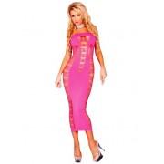 Dress lung Spender roz OS