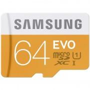 Cartão De Memória Samsung MB-MP64DA/EU EVO MicroSDHC UHS-1 - Classe 10 - 64 GB
