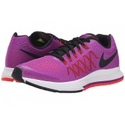 Nike Kids Zoom Pegasus 32 (Little KidBig Kid) Vivid PurpleBright CrimsonFuchsia GlowBlack