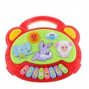Magideal Kids Musical Educational Toy Animal Farm Piano Music Developmental Souptoys