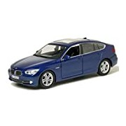 "Motormax GOTZMM73352BU 1:24 Scale Metallic Blue ""2010 BMW 550i GT"" Die Cast Model Car"