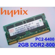 MEMORIE LAPTOP Hynix 2GB DDR2 PC2-6400 800MHZ(nou)