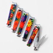 Nagelknippare, blommönster 58mm
