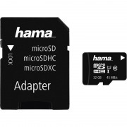 Hama Speicherkarte Micro SecureDigital XC, 32 GB