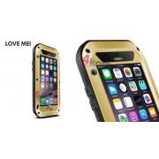 Pancerne etui LOVE MEI do iPhone 6 - Złoty