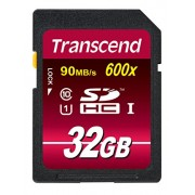 Transcend 32 GB High Speed Class 10 UHS Memory Card Upto 90MB/s (TS32GSDHC10U1)