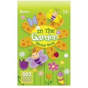 Bulk Buy: Darice Crafts for Kids Sticker Book In The Garden 692 stickers (24-Pack) 106-3147