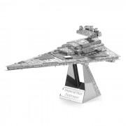 Puzzle DIY 3D Montado Modelo Imperial Destructor Estelar Juguete - plata