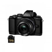 Aparat foto Mirrorless Olympus OM-D E-M10 16.1 Mpx Black Kit 14-42mm EZ Pancake