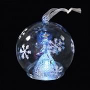 Eminza Palla di Natale LED Abee palla Multicolor