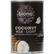 Lapte de cocos light organic