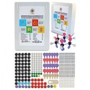 Molecular Model Kit with Molecule Structure Building Software - Dalton Labs Organic Chemistry Set - 306pcs Teacher Edition - Atoms Bonds Orbitals Links - Advanced Learning Science Educational Toys