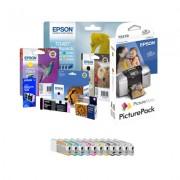 EPSON Tinteiro T6369 Light Light Preto 700ml Stylus Pro 7900