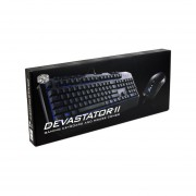 Teclado Gamer Y Mouse Cooler Master Devastator II Gaming Combo, USB, LEDs Azul. SGB-3030-KKMF1