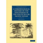 A Chronological History of the Discoveries in the South Sea or Pacific Ocean 5 Volume Set by James Burney