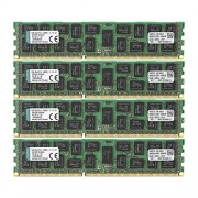 Kingston KVR16R11D4K4/64 Memoria RAM da 64 GB, 1600 MHz, DDR3, ECC Reg CL11 DIMM Kit (4x16 GB), 240-pin