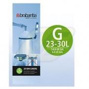 Brabantia szemeteszsák 30l 20 db, G