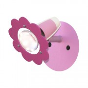 energie A++, Plafondlamp Bloem - hout 1 lichtbron, Elobra