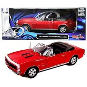 New 1:18 W/B SPECIAL EDITION - RED 1967 Chevrolet Camaro RS/SS 396 Diecast Model Car By Maisto