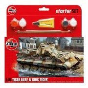 Airfix A55303 - Serie Small Media Gift Set: King Tiger