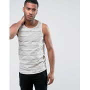 Only & Sons Vest with Stripe - Oatmeal (Sizes: XL, L, M, S)