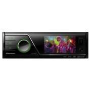 Pioneer MVH-8300BT Radio con CD/DVD para coches (200 W), negro