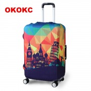 OKOKC Travel Luggage Suitcase Protective Cover for Trunk Case Apply to 19''-32'' Suitcase Cover Elastic Perfectly