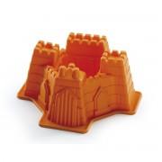 Forma de copt din silicon in forma de Castel