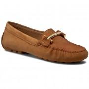 Mokaszin LAUREN RALPH LAUREN - Caliana N88 Q0255 R0262 A2SPO Light Cuoio